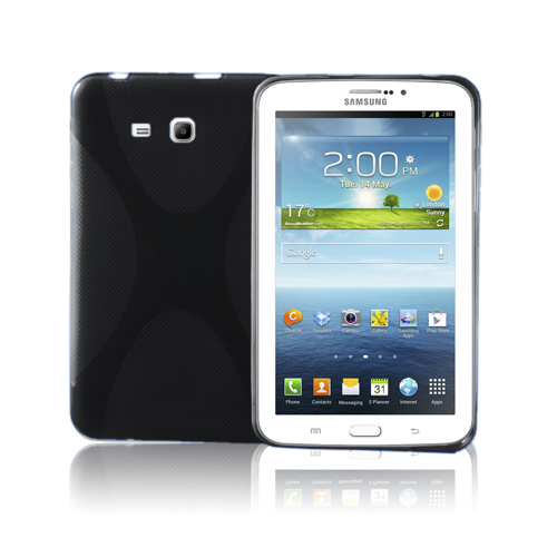X-Stil (Svart) Samsung Galaxy Tab3 7.0 Skal