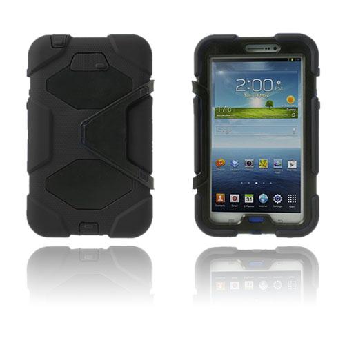 Armor (Svart) Samsung Galaxy Tab 3 7.0 Ultra Skal