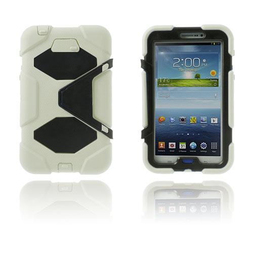 Armor (Vit) Samsung Galaxy Tab 3 7.0 Ultra Skal