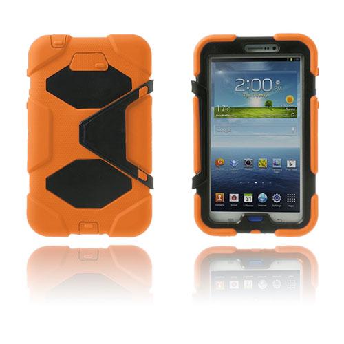 Armor (Orange) Samsung Galaxy Tab 3 7.0 Ultra Skal