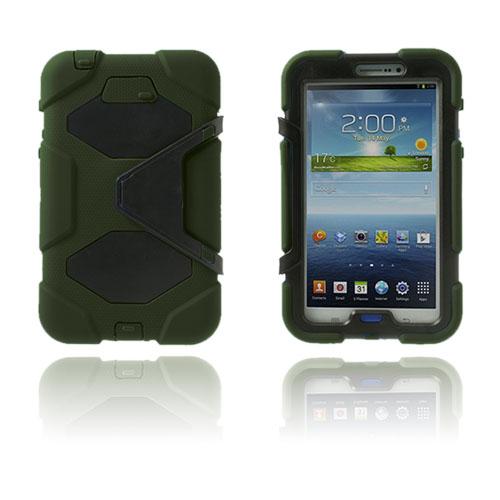 Armor (Mörkgrön) Samsung Galaxy Tab 3 7.0 Ultra Skal