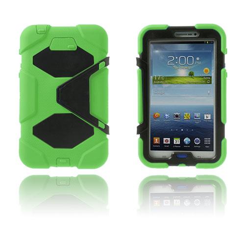 Armor (Grön) Samsung Galaxy Tab 3 7.0 Ultra Skal