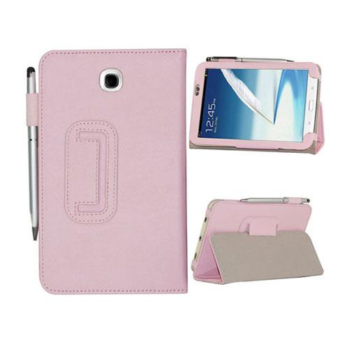 Business (Rosa) Samsung Galaxy Tab 3 7.0 Läderfodral