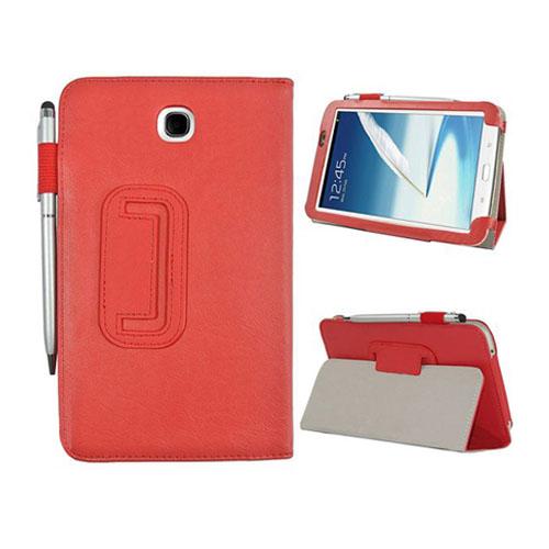 Business (Röd) Samsung Galaxy Tab 3 7.0 Läderfodral