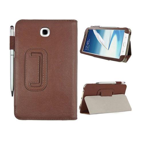 Business (Brun) Samsung Galaxy Tab 3 7.0 Läderfodral