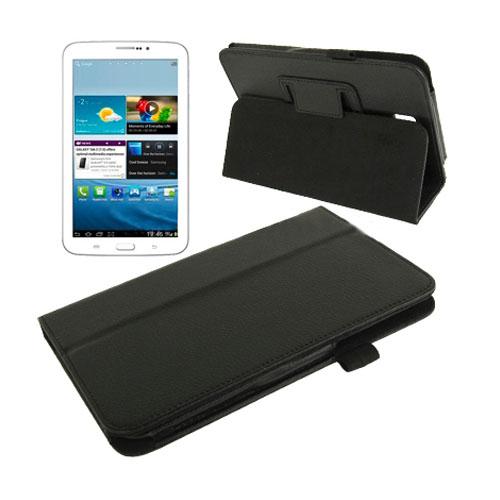 Boston (Svart) Samsung Galaxy Tab 3 7.0 Läderfodral