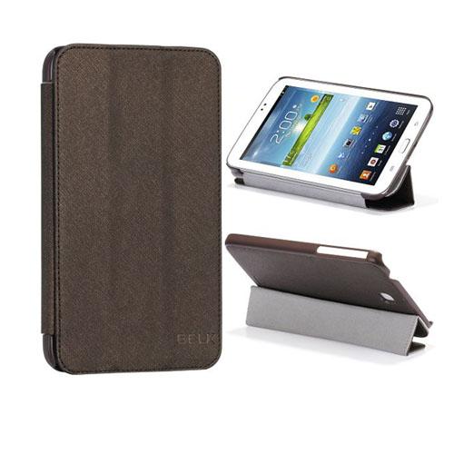 SmartCover (Brun) Samsung Galaxy Tab 3 7.0 Läderfodral
