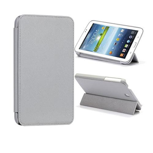 SmartCover (Grå) Samsung Galaxy Tab 3 7.0 Läderfodral