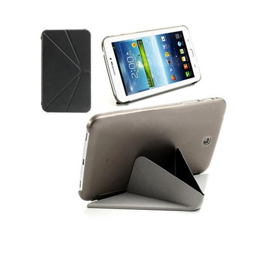ICOK (Svart) Samsung Galaxy Tab 3 7.0 Läderfodral