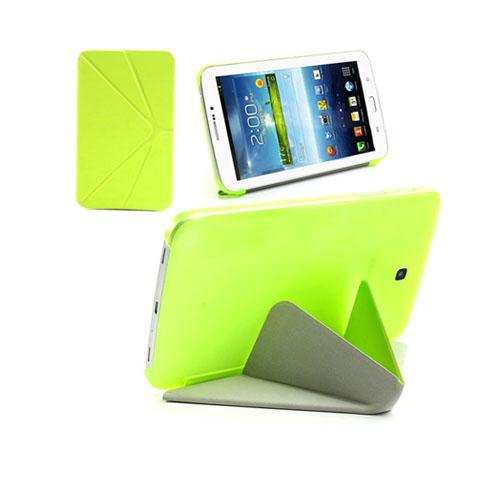 ICOK (Grön) Samsung Galaxy Tab 3 7.0 Läderfodral