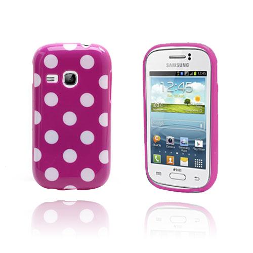 Polka Dots (Lila) Samsung Galaxy Young Skal