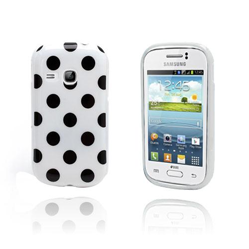 Polka Dots (Vit) Samsung Galaxy Young Skal