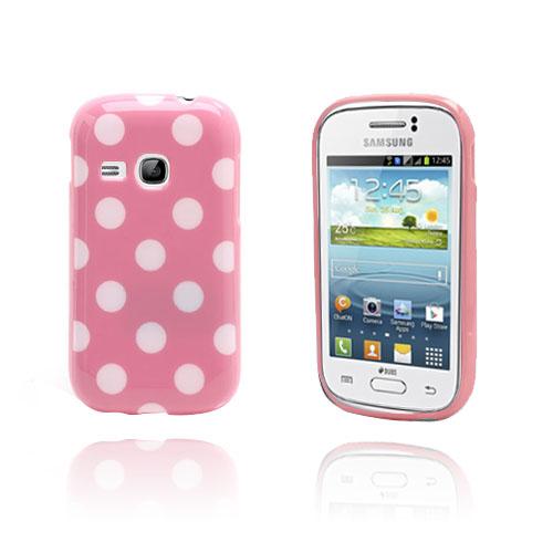 Polka Dots (Rosa) Samsung Galaxy Young Skal