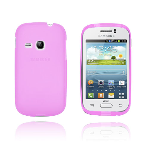 SemiTransparent (Het Rosa) Samsung Galaxy Young Skal