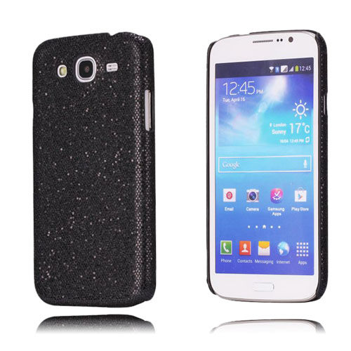 Glitter (Svart) Samsung Galaxy Mega 5.8 Skal