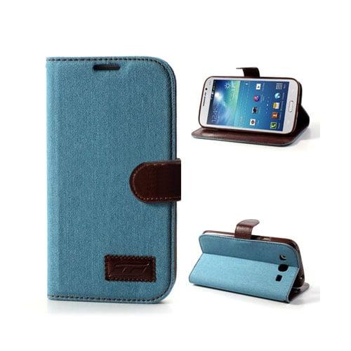 Denim (Ljusblå) Samsung Galaxy Mega 5.8 Fodral