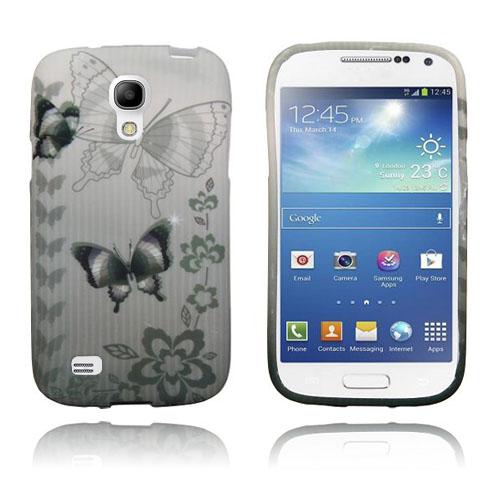Symphony (Mörka Fjärilar) Samsung Galaxy S4 Mini Skal