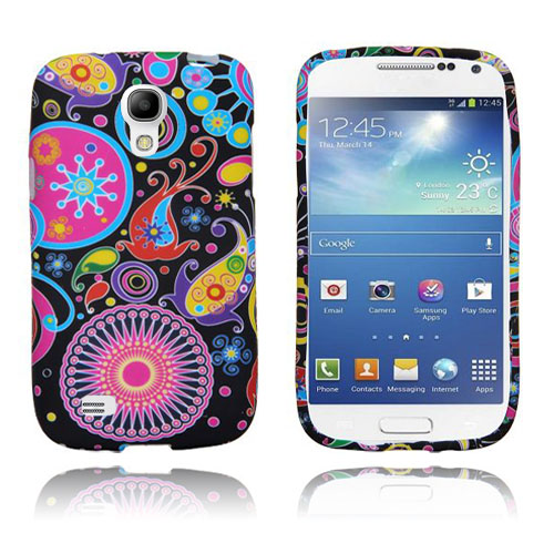Symphony (Mörkt Mönster) Samsung Galaxy S4 Mini Skal