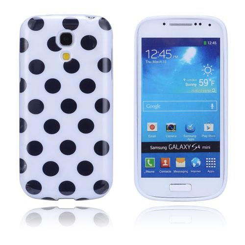 Polkaprickar (Vit) Samsung Galaxy S4 Mini Skal