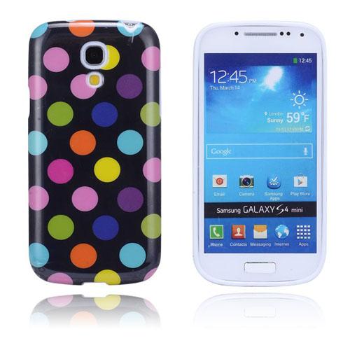 Polkaprickar (Svart / Brokigt) Samsung Galaxy S4 Mini Skal