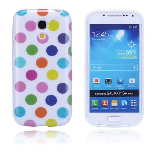 Polkaprickar (Mångfärgat) Samsung Galaxy S4 Mini Skal