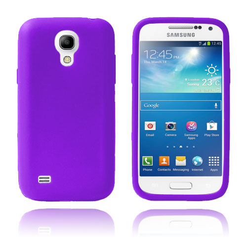 Soft Shell (Lila) Samsung Galaxy S4 Mini Skal