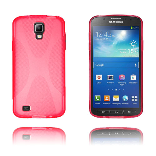 X-Style (Röd) Samsung Galaxy S4 Active Skal