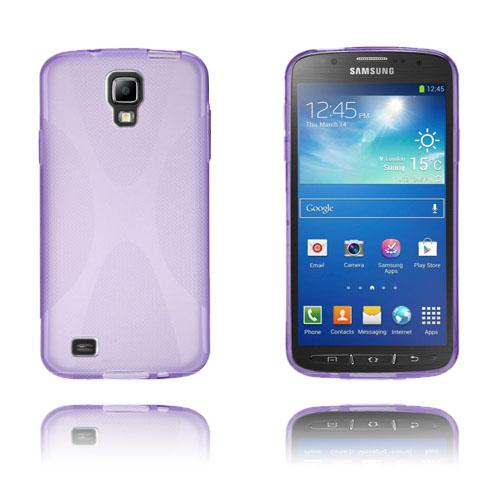 X-Style (Lila) Samsung Galaxy S4 Active Skal