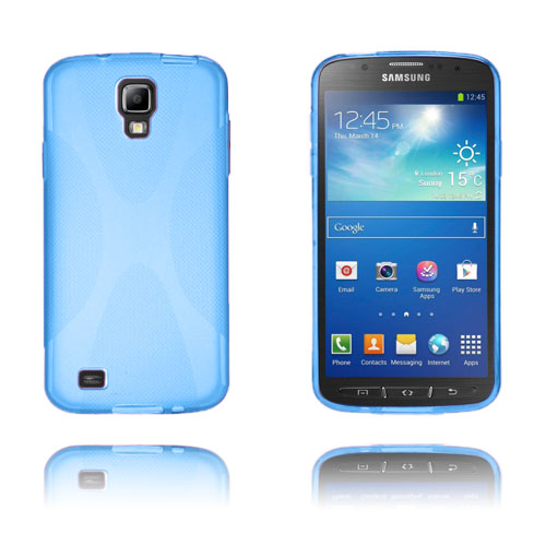 X-Style (Blå) Samsung Galaxy S4 Active Skal
