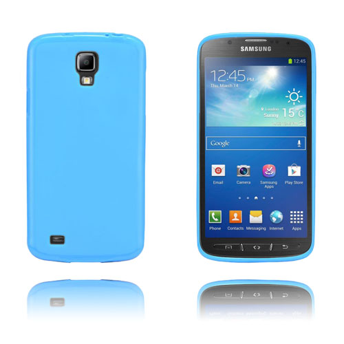 GelCase (Blå) Samsung Galaxy S4 Active TPU Skal