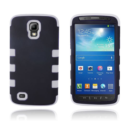Duo Shell (Vit) Samsung Galaxy S4 Active Skal