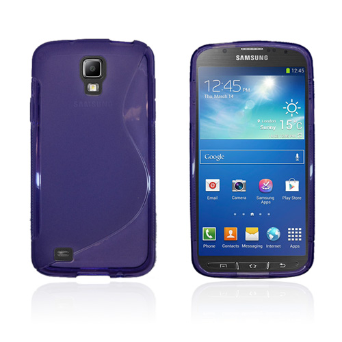 S-Line Transparent (Lila) Samsung Galaxy S4 Active Skal