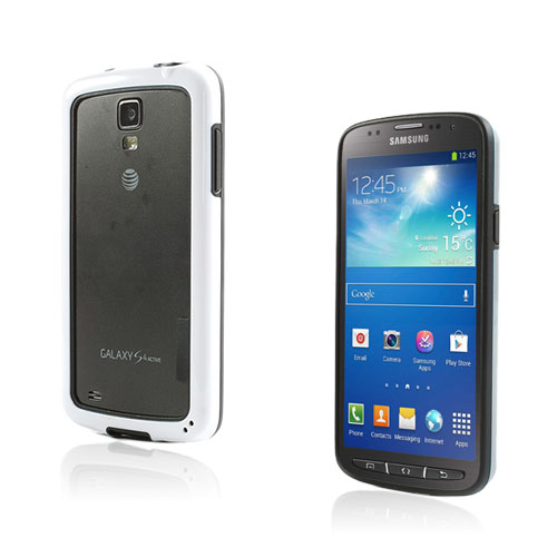 Arc Edge Samsung Galaxy S4 Active Bumper – Svart / Vit