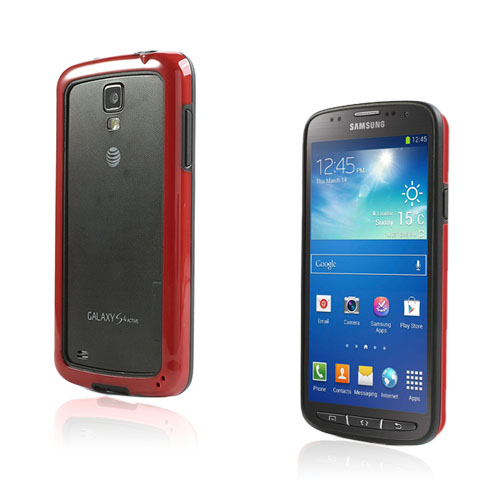 Arc Edge Samsung Galaxy S4 Active Bumper – Svart / Röd