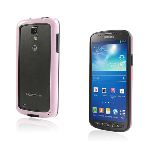 Arc Edge Samsung Galaxy S4 Active Bumper – Svart / Rosa