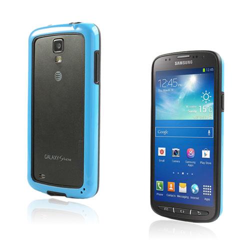 Arc Edge Samsung Galaxy S4 Active Bumper – Svart / Blå