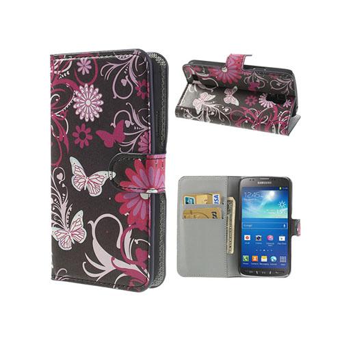Festival (Rosa Fjärilar) Samsung Galaxy S4 Active Fodral