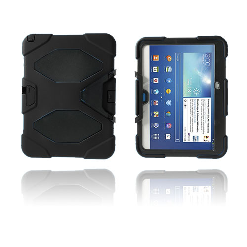 Armor (Svart) Samsung Galaxy Tab 3 10.1 Ultra Skal