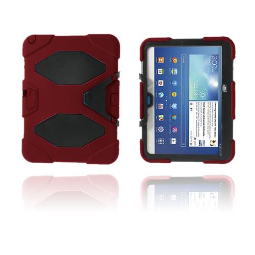 Armor (Röd) Samsung Galaxy Tab 3 10.1 Ultra Skal