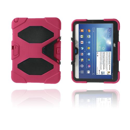 Armor (Rosa) Samsung Galaxy Tab 3 10.1 Ultra Skal