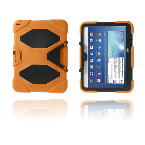 Armor (Orange) Samsung Galaxy Tab 3 10.1 Ultra Skal