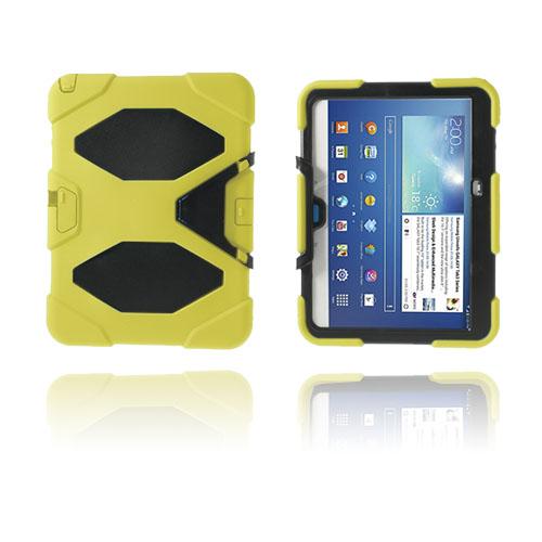 Armor (Gul) Samsung Galaxy Tab 3 10.1 Ultra Skal
