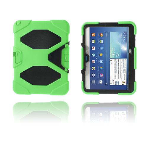 Armor (Grön) Samsung Galaxy Tab 3 10.1 Ultra Skal