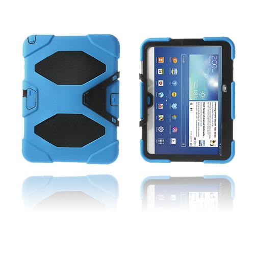Armor (Ljusblå) Samsung Galaxy Tab 3 10.1 Ultra Skal