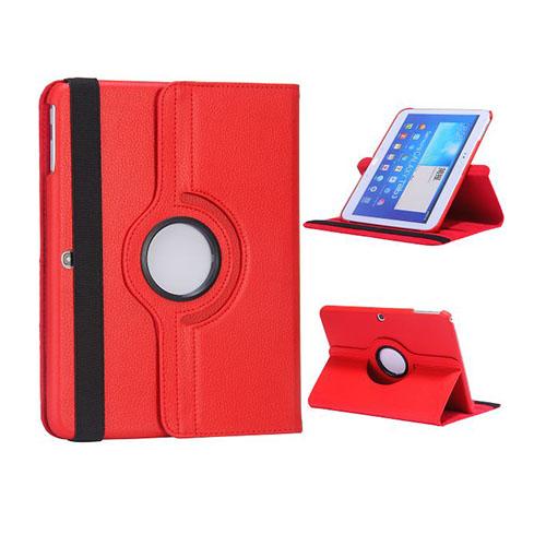 Rotor (Röd) Samsung Galaxy Tab 3 10.1 Läderfodral