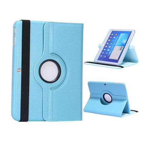 Rotor (Ljusblå) Samsung Galaxy Tab 3 10.1 Läderfodral