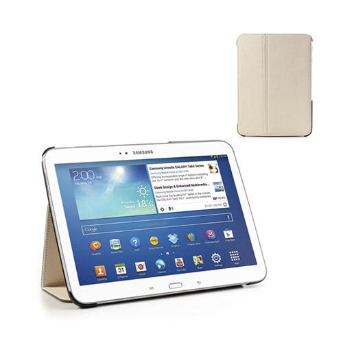 Tervo Samsung Galaxy Tab 3 10.1 Twill Case – Vit