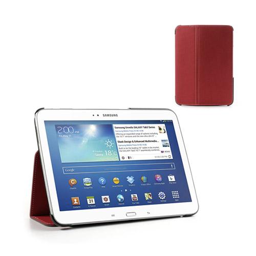 Tervo Samsung Galaxy Tab 3 10.1 Twill Case – Röd