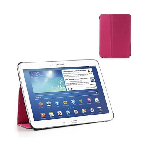 Tervo Samsung Galaxy Tab 3 10.1 Twill Case – Shock Rosa