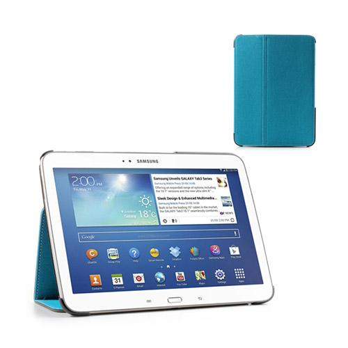 Tervo Samsung Galaxy Tab 3 10.1 Twill Case – Ljus Blå